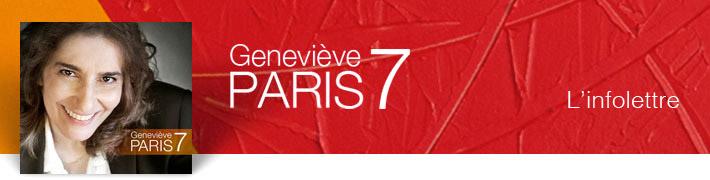 Geneviève Paris l'infolettre